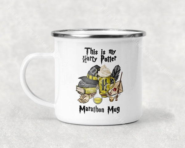 This Is My Harry Potter Marathon (Hufflepuff) Mug Coffee