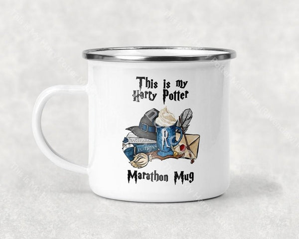 This Is My Harry Potter Marathon (Ravenclaw) Mug Coffee