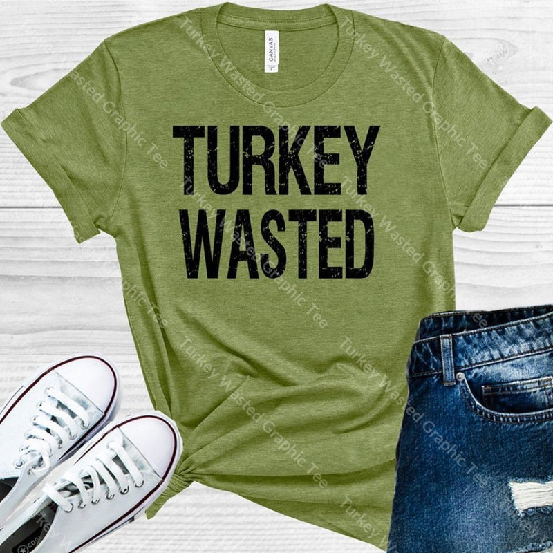 Turkey Wasted Graphic Tee Graphic Tee