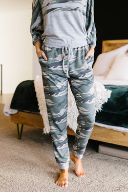 Up 'N' At 'Em Camo Joggers