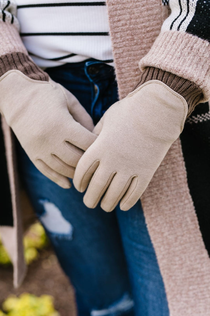 Warm Hands Knit Gloves