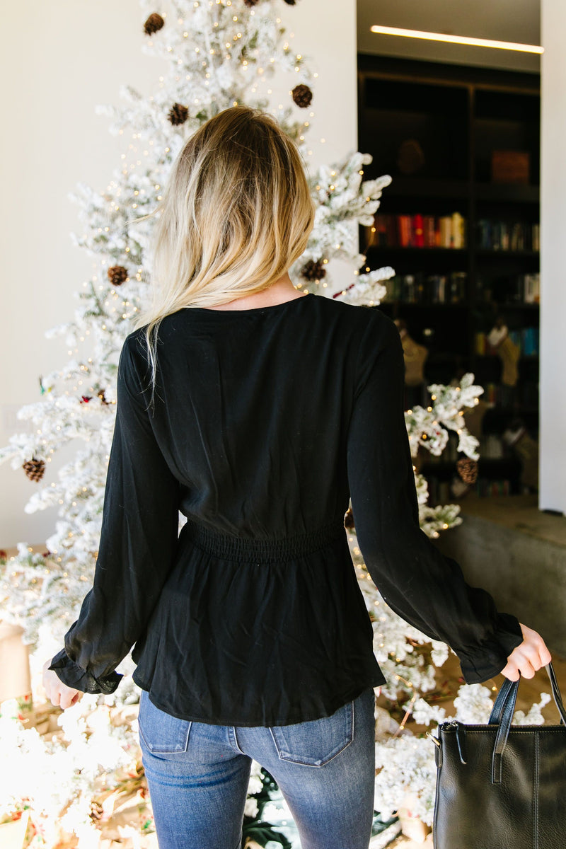 Wrap Up The Year In Style Blouse