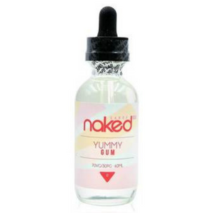 Naked E-liquid 50ml-Yummy Gum