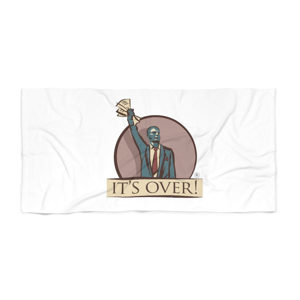 Itsover Beach Towel