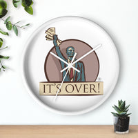 The Writing on the Wall clock