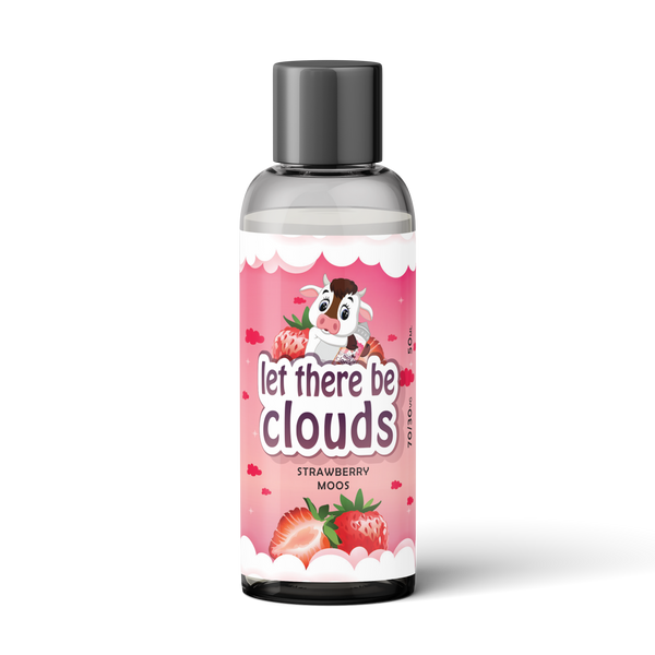 50ml Strawberry Moos - Let There Be Clouds