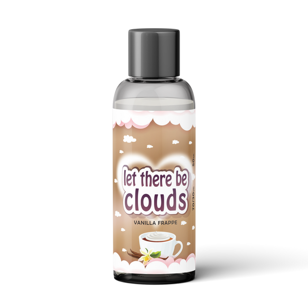 50ml Vanilla Frappe - Let There Be Clouds
