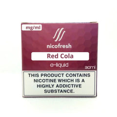 30ml Red Cola - Nicofresh limited offer