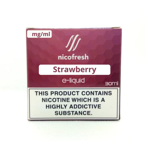 30ml Strawberry - Nicofresh (3x10ml)