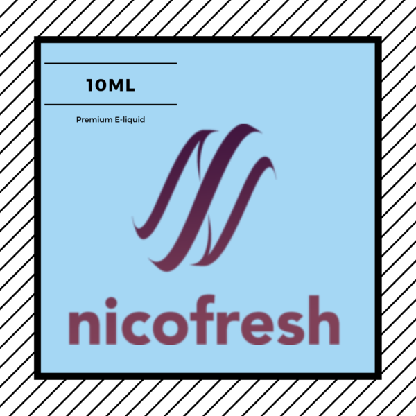 Nicofresh 10ml e-liquid