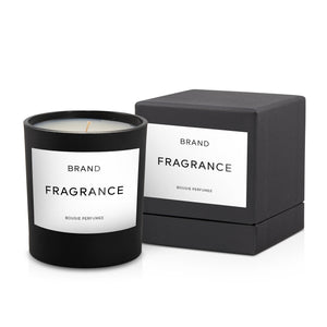 8oz Private Label Candle with Boxes