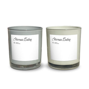 "8.5oz Candle with box Alternate Ending ""Spiced Petals"""