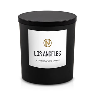 "8oz Candle ""Los Angeles"" With Lid"