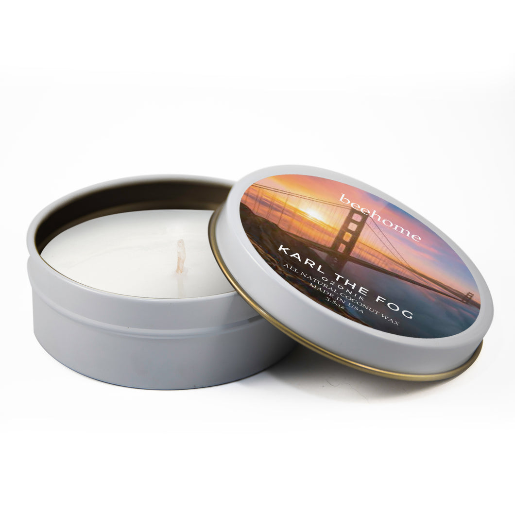 Beehome Travel Tin SF 3.5oz Karl The Fog