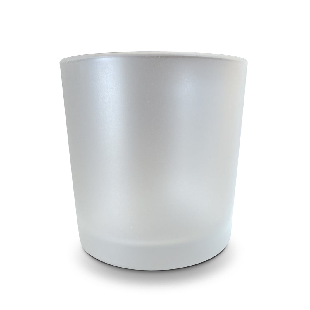 7oz  White Frosted Vessel