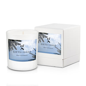 "8oz Candle with Box ""Amber in White Box"""
