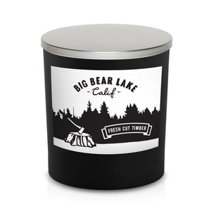 "8oz Candle ""Fresh Cut Timber"""