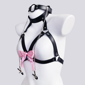 DDLG MDLG Breast Clips Bra Harness