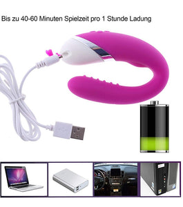 12 Speed USB Rechargeable G Spot Vibrator