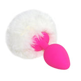 DDLG MDLG Rabbit Bunny Girl Tail Butt Plug