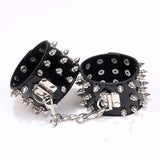 Leather Handcuffs For Female Erotic Punk