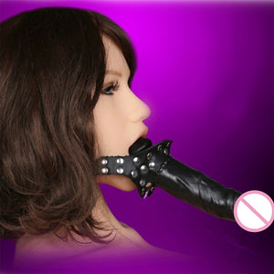 BDSM  Strap On Open Mouth Gag