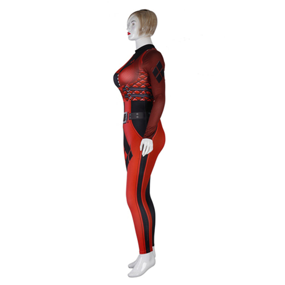 Harley Quinn Bodysuit Plus Size For Women