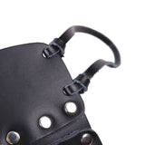Genuine leather Black Sex Toys