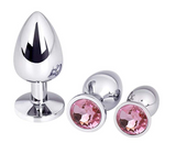 Steel Jeweled Sexy Stimulation Toys