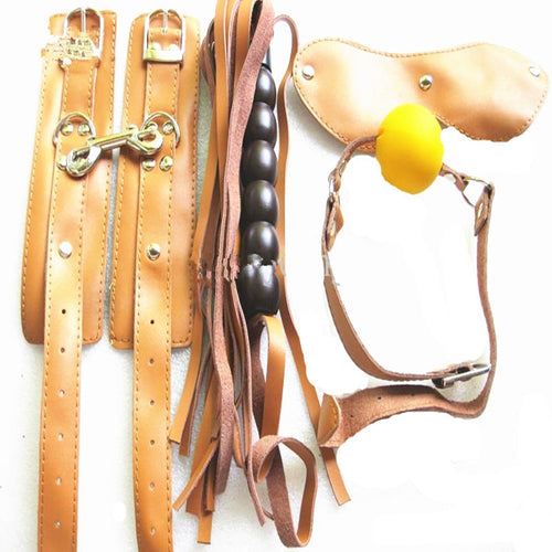 Bondage Kit BDSM Fetish Play Mouth Gag