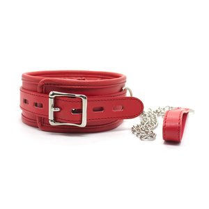 BDSM Bondage Genuine Leather Padded