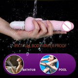 Intelligent Heating Rechargeable Erotic Vibrator