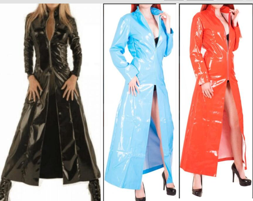Faux Leather bdsm Fetish Dresses