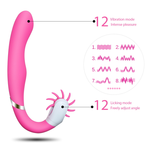 Vibrator Dual Motors Sex Toy