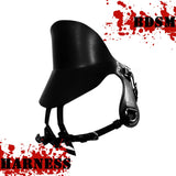 Cowskin Leather BDSM Saddle Harness