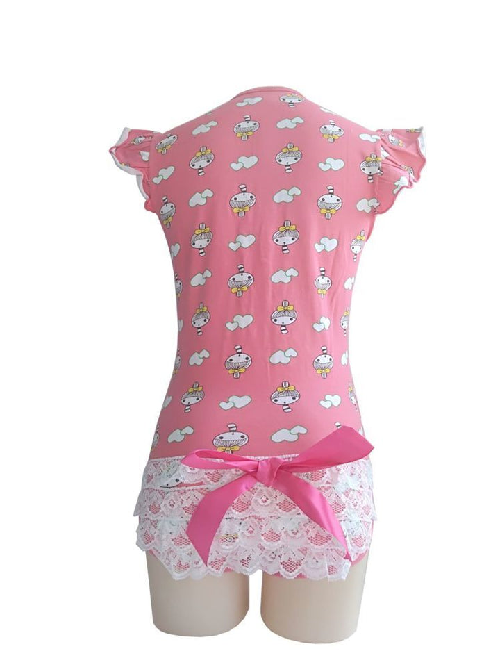 Adult Little Girl Printed Jumpsuit