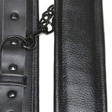 High Quality Genuine Leather Padded Handcuffs
