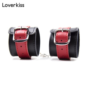 Genuine Leather 4 pc Bondage Set