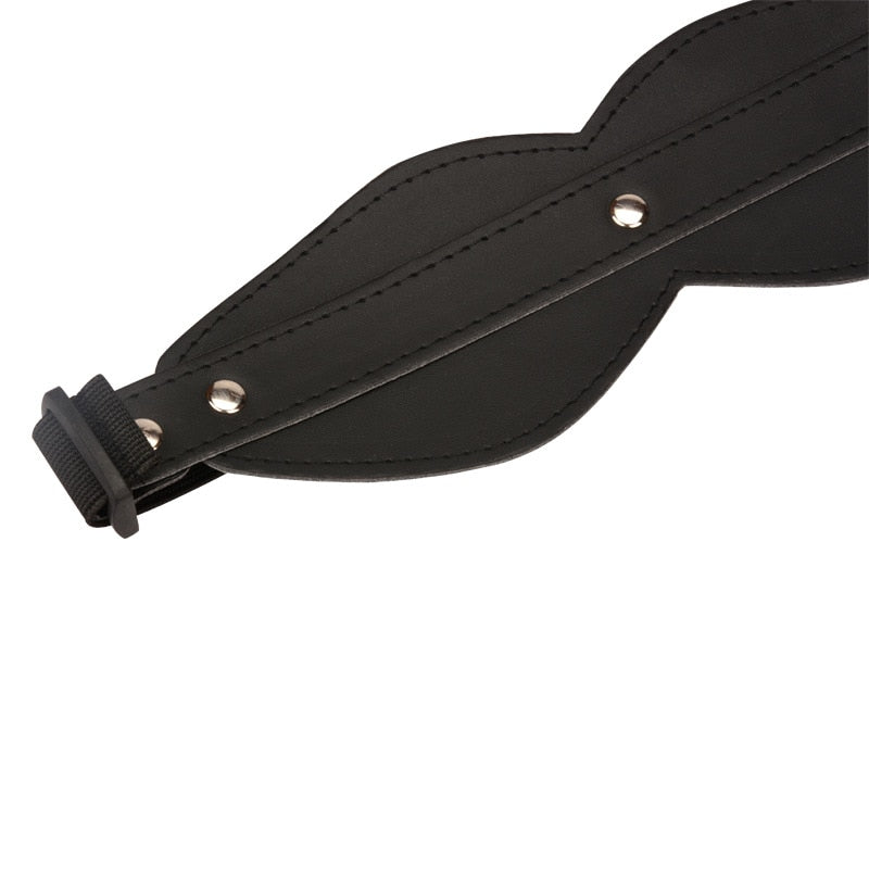 Genuine Leather Eye Mask Blindfold