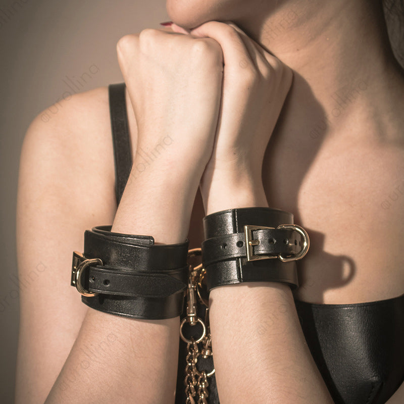 Genuine Cowskin Leather Bondage Set