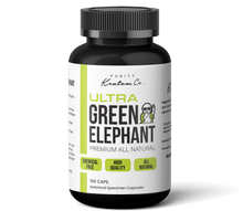 Load image into Gallery viewer, Ultra Green Elephant  (Finely Packed Kratom Capsules - 500mg per Capsule)