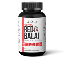 Load image into Gallery viewer, ULTRA Red Balai (Finely Packed Kratom Capsules - 500mg per Capsule)