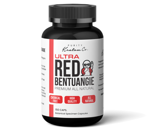 Ultra Red Bentuangie (Finely Packed Kratom Capsules - 500mg per Capsule)