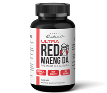 Load image into Gallery viewer, ULTRA Red Maeng Da (Finely Packed Kratom Capsules - 500mg per Capsule)