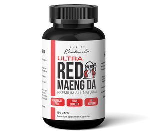ULTRA Red Maeng Da (Finely Packed Kratom Capsules - 500mg per Capsule)