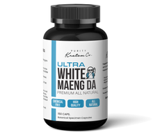 Load image into Gallery viewer, ULTRA White Maeng Da (Finely Packed Kratom Capsules - 500mg per Capsule)
