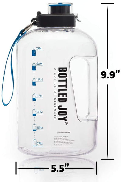 1 gallon sports water bottle for gym