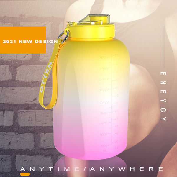 1 Gallon Portable Bicycle Water Bottle