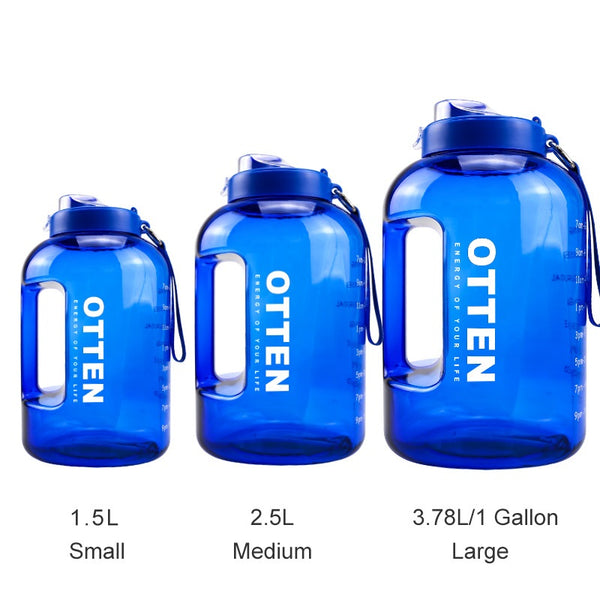 Gallon Water Bottle with Times