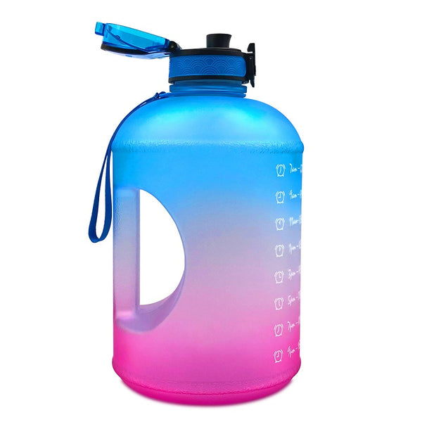 1 Gallon Water Bottle With Time Markings